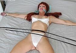 Sheena Sands in Bondage