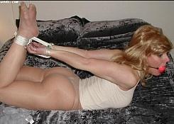 bondage women tied up and gagged
